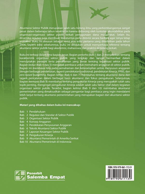 Akuntansi Sektor Publik Edisi 2/Deddi Nordiawan