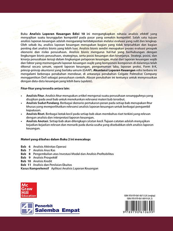 Analisis Laporan Keuangan 2 Edisi 10/Wild, Subramanyam