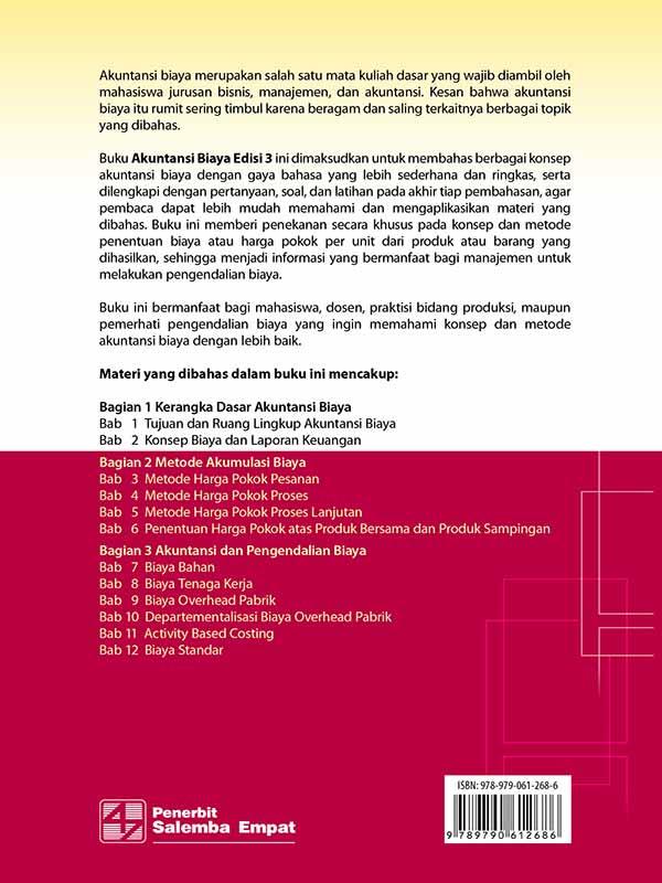 Akuntansi Biaya Edisi 3/Firdaus Ahmad Dunia-Wasilah