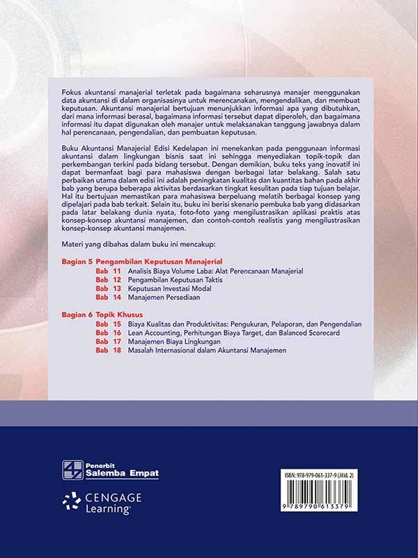 Akuntansi Manajerial 2 Edisi 8-Koran/Hansen-Mowen