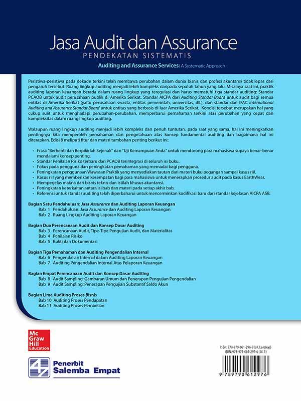 Jasa Audit dan Assurance: Pendekatan Sistematik Edisi 8 Buku 1/Messier