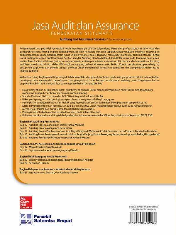 Jasa Audit dan Assurance: Pendekatan Sistematik Edisi 8 Buku 2/Messier