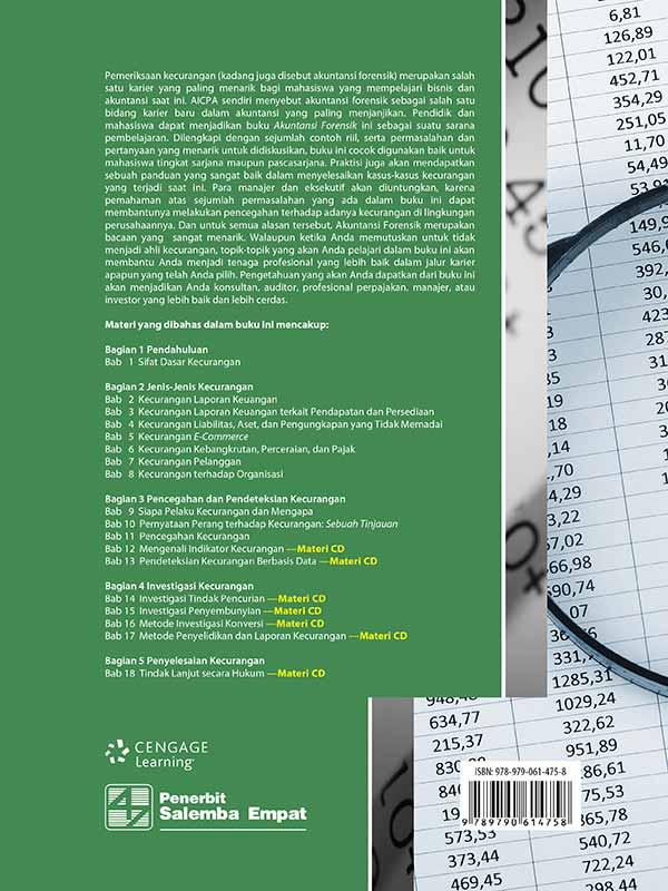 Akuntansi Forensik Edisi 4-CD Book/Zimbelman