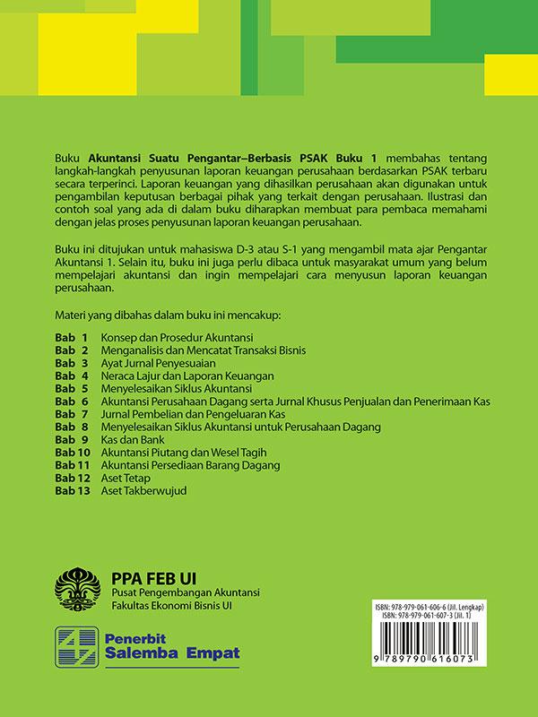 Akuntansi Suatu Pengantar-Berbasis PSAK Buku 1/PPA FEB UI