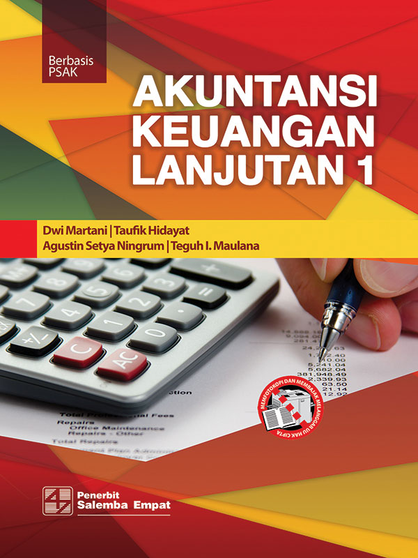 Akuntansi Keuangan Lanjutan 1 Berbasis PSAK/Dwi Martani-dkk