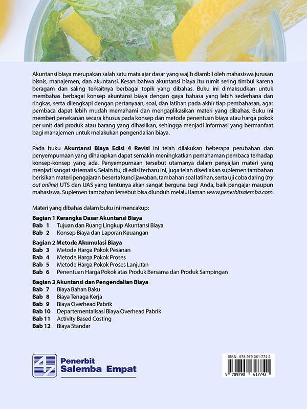 Akuntansi Biaya Edisi 4-Revisi/Firdaus A. Dunia-dkk