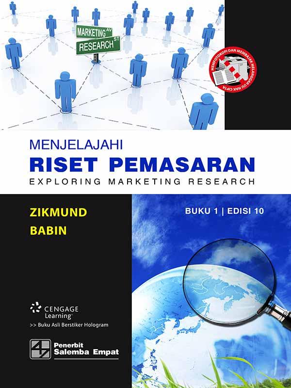 Menjelajahi Riset Pemasaran Buku 1 Edisi 10/Zikmund-Babin