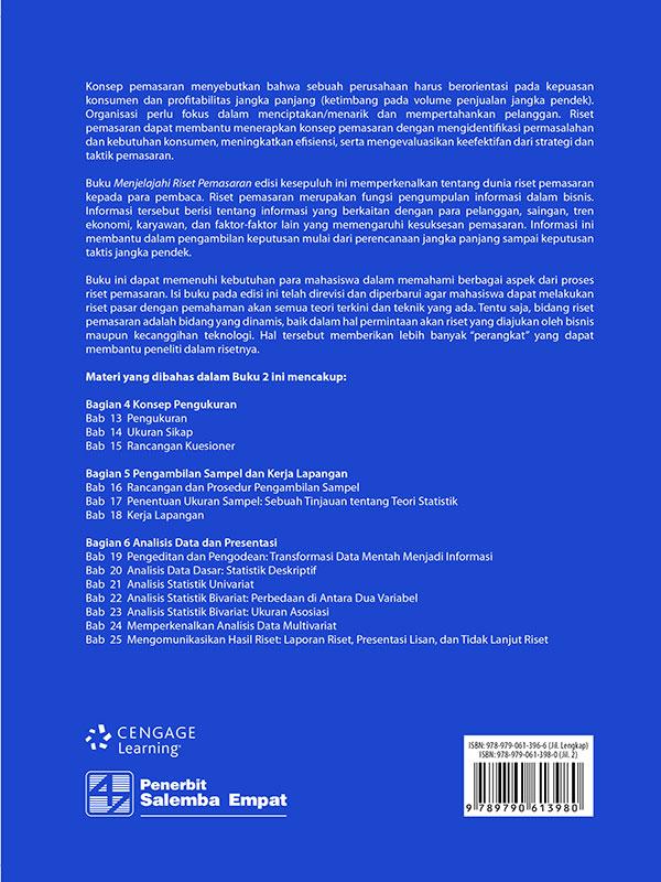 Menjelajahi Riset Pemasaran Buku 2 Edisi 10/Zikmund