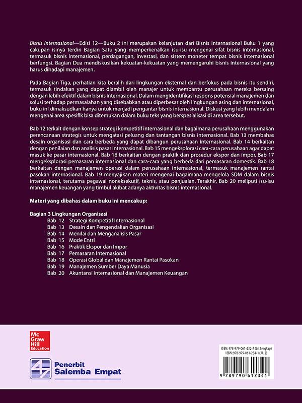 Bisnis Internasional Edisi 12 Buku 2/Ball