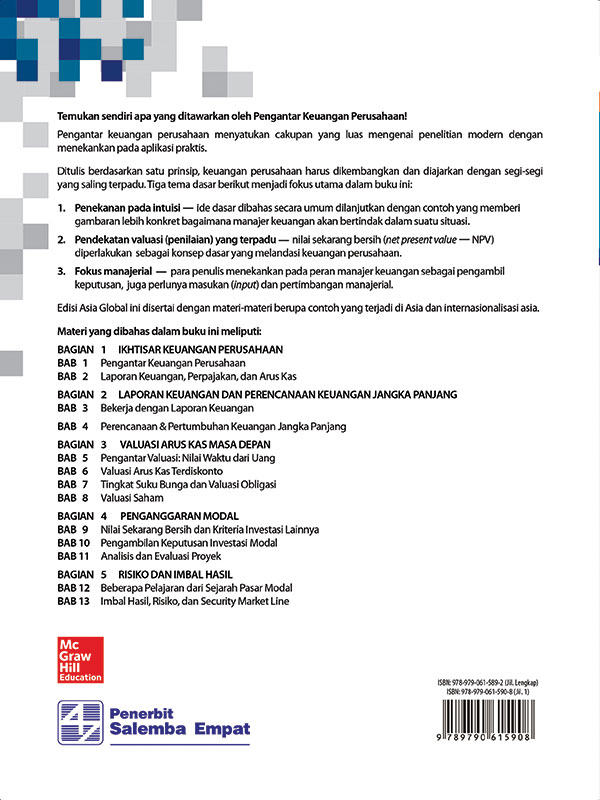 Pengantar Keuangan Perusahaan-edisi Asia 1/Ross