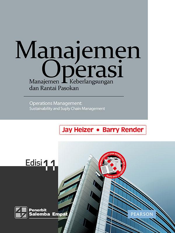Manajemen Operasi Edisi 11-Full Print/Heizer Render