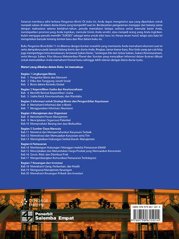 Pengantar Bisnis Edisi 11-Full Print/Pride