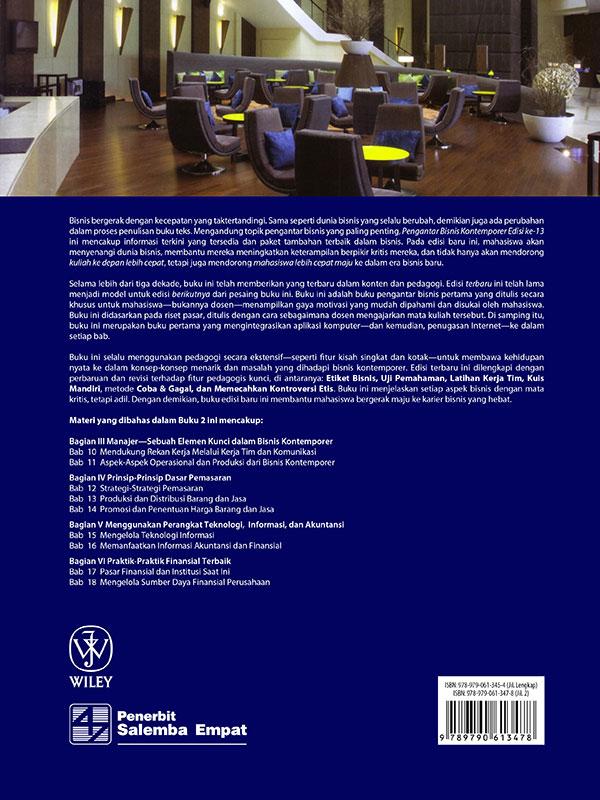Pengantar Bisnis Kontemporer Edisi 13 Buku 2-HVS/Boone