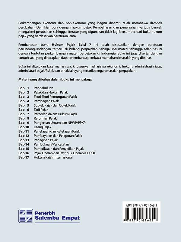 Hukum Pajak Edisi 7/Erly Suandy