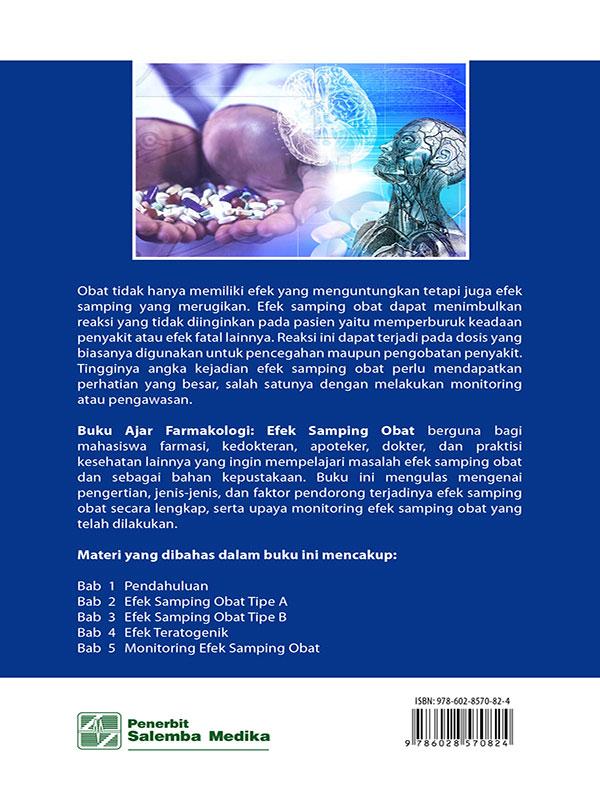 Buku Ajar Farmakologi: Efek Samping Obat/Dr. Syamsudin