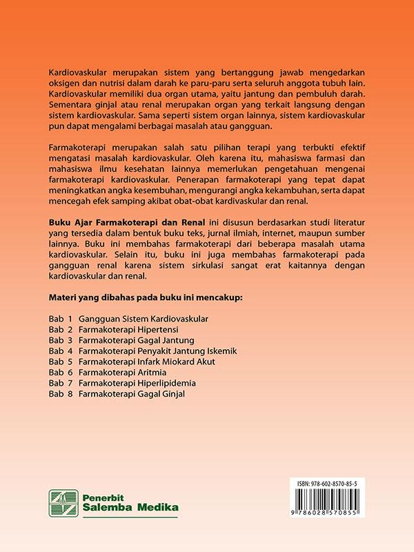 Buku Ajar Farmakoterapi Kardiovaskular dan Renal/Syamsudin