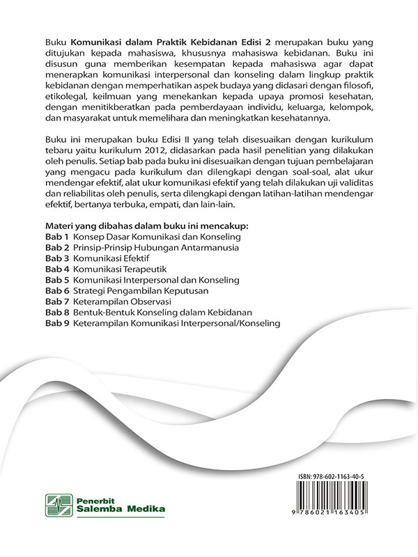 Komunikasi dalam Praktik Kebidanan Edisi 2/Rita Yulifah