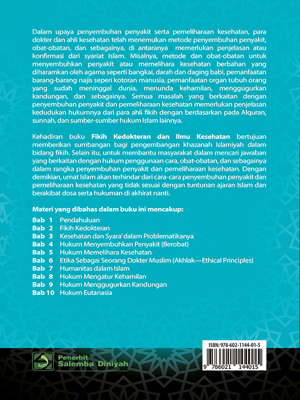 Fikih Kedokteran dan Ilmu Kesehatan/Prof. Abuddin Nata-dkk