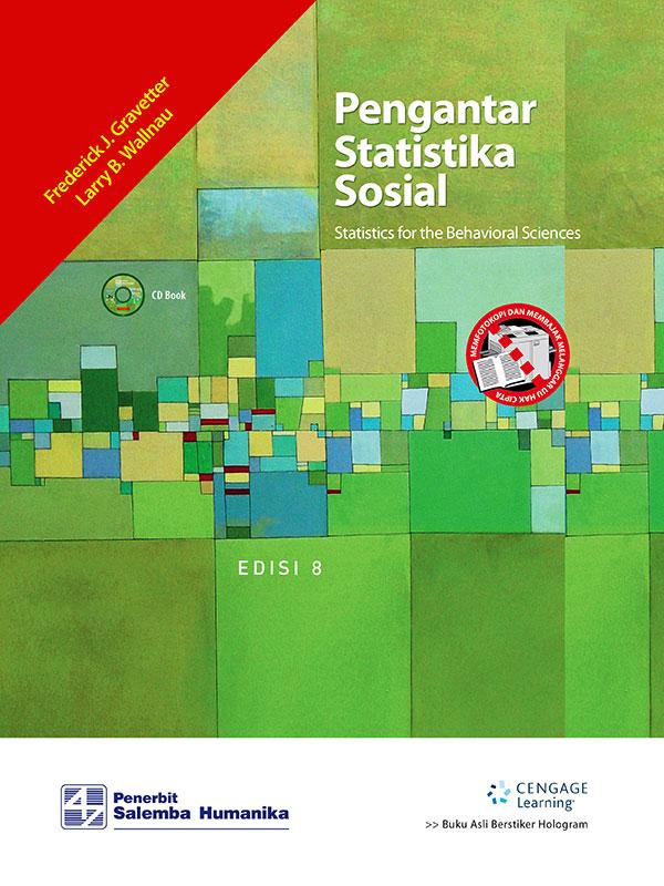 Pengantar Statistika Sosial Edisi 8-CD Book/ Gravetter
