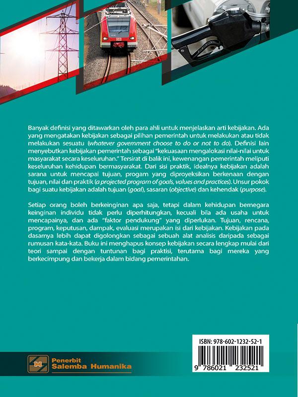 Kebijakan Publik Edisi 3/Said Z. Abidin