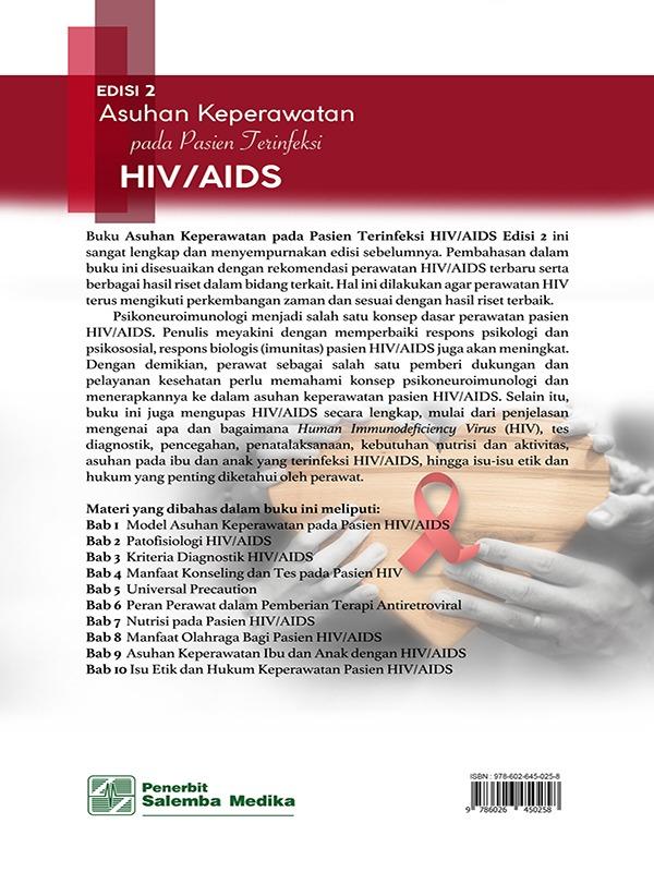 Asuhan Keperawatan pada Pasien Terinfeksi HIV/AIDS Edisi 2