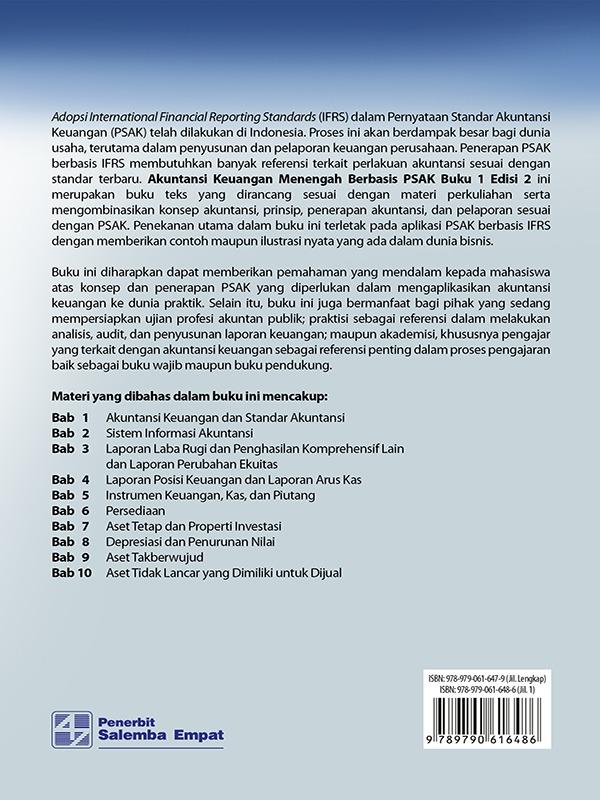 Akuntansi Keuangan Menengah Berbasis PSAK Edisi 2 Buku 1/Dwi Martani-dkk