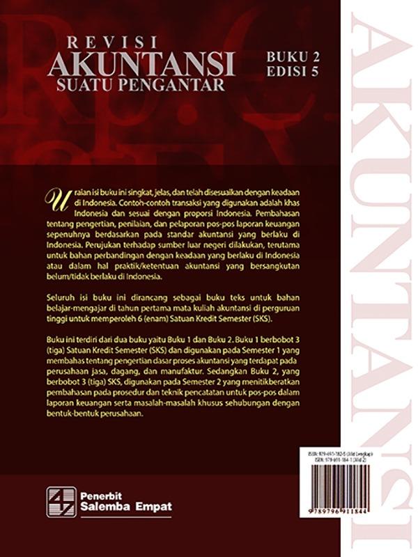 Akuntansi Suatu Pengantar 2 Edisi 5-Koran/Soemarso