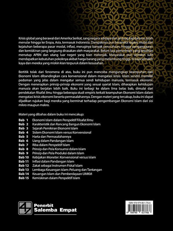 Ekonomi Islam: untuk Dunia yang Lebih Baik/Amir Machmud