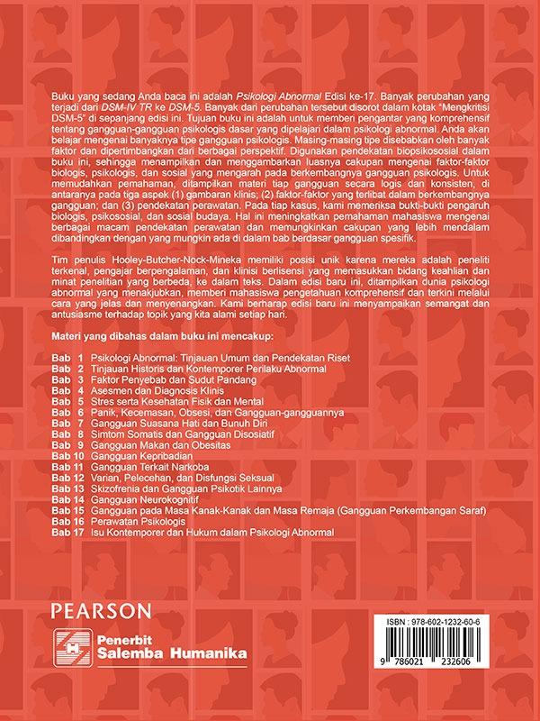 Psikologi Abnormal Edisi 17/Hooley-et al