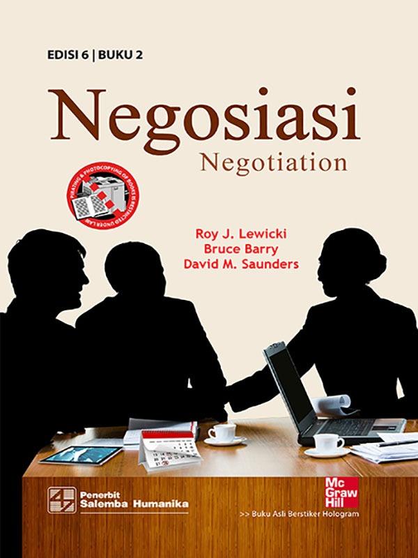 Negosiasi Buku 2 Edisi 6/Lewicki
