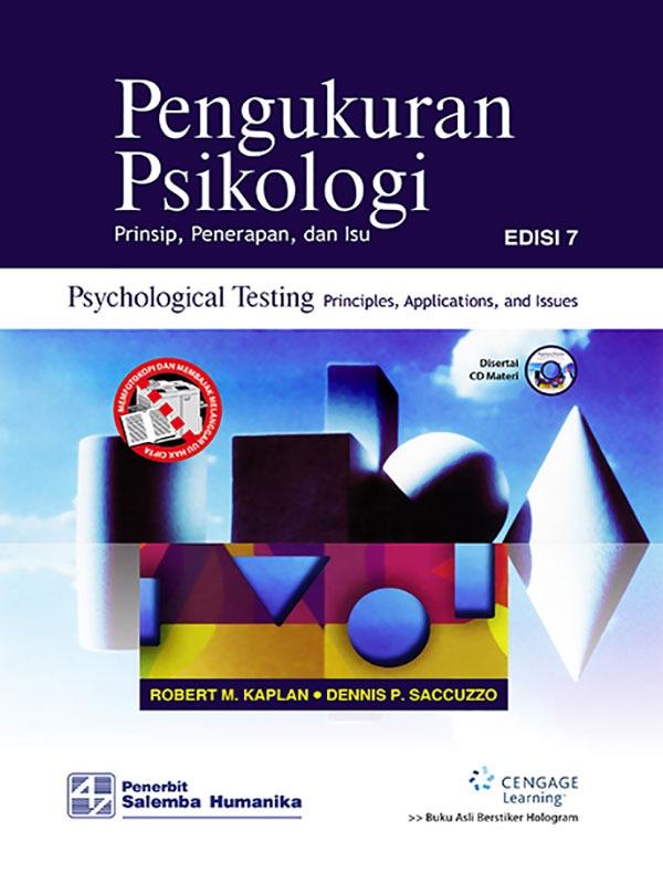 Pengukuran Psikologi Prinsip, Penerapan dan Isu Edisi 7- Full Print/Kaplan