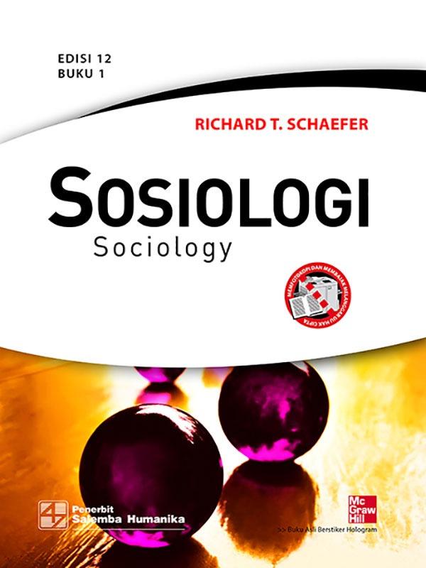 Sosiologi Edisi 12 Buku 1/ Schaefer