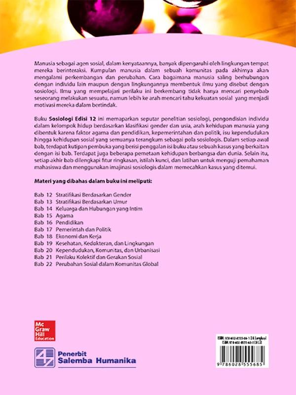 Sosiologi Edisi 12 Buku 2/ Schaefer