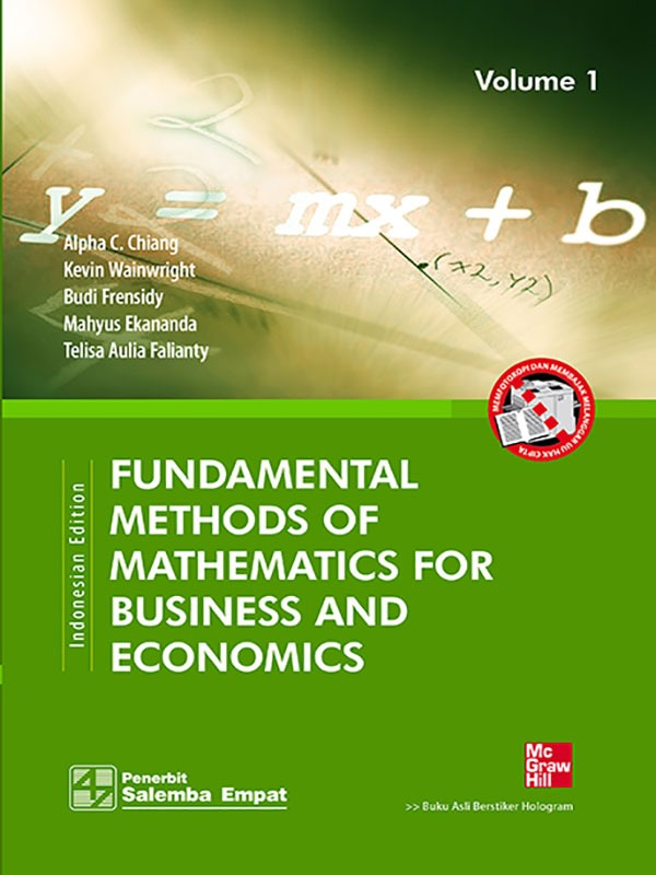 Fundamental Methods of Math. For Business and Eco. 1/Chiang