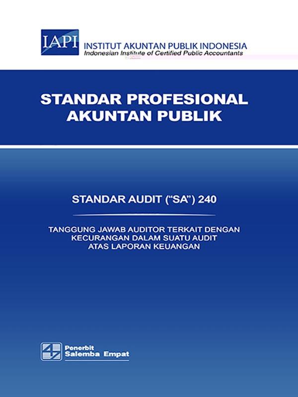 SA 240-Standar Audit/IAPI
