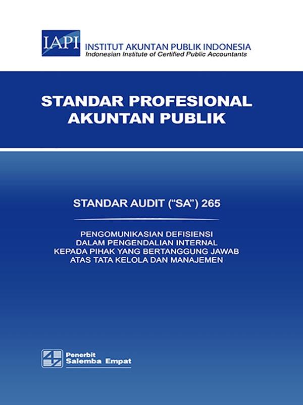 SA 265-Standar Audit/IAPI