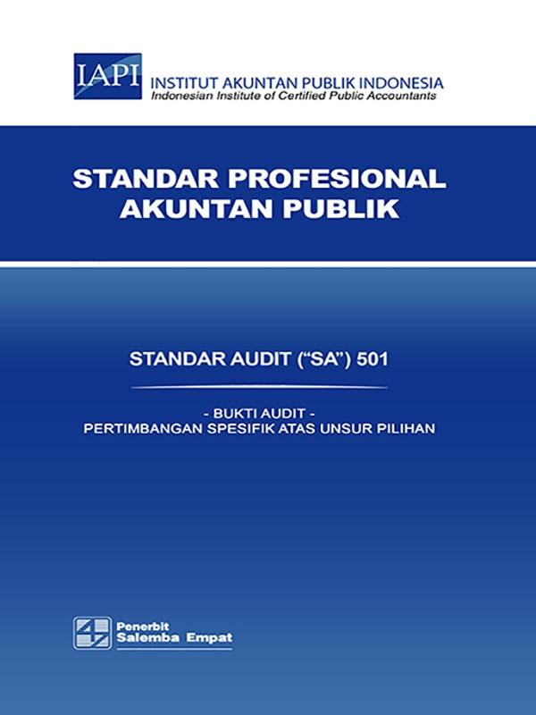 SA 501-Standar Audit/IAPI