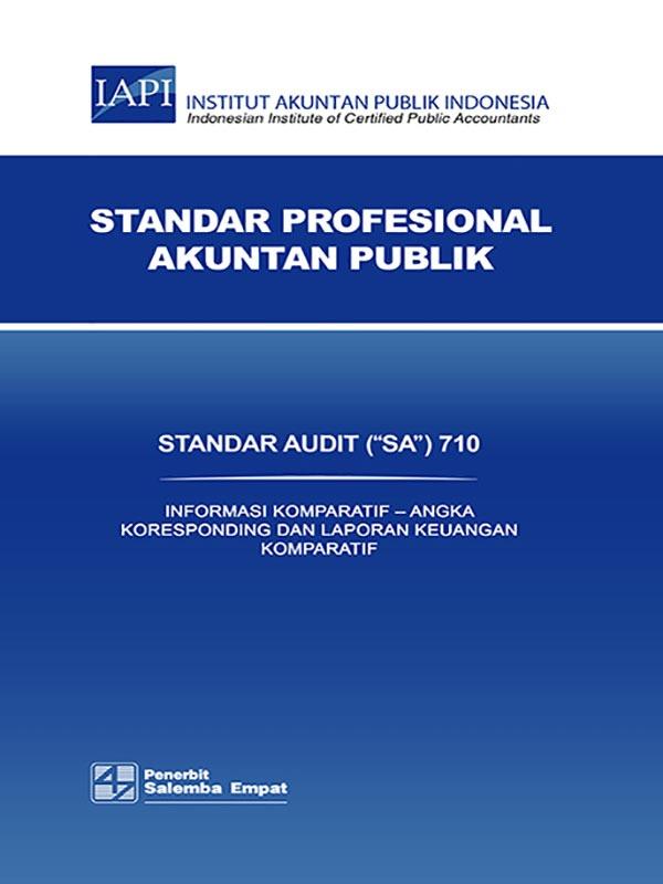 SA 710-Standar Audit/IAPI
