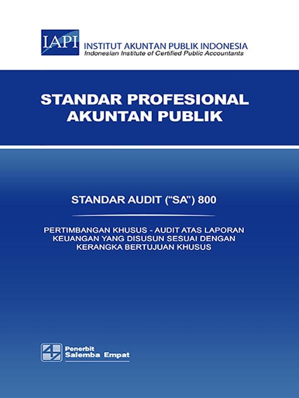 SA 800-Standar Audit/IAPI