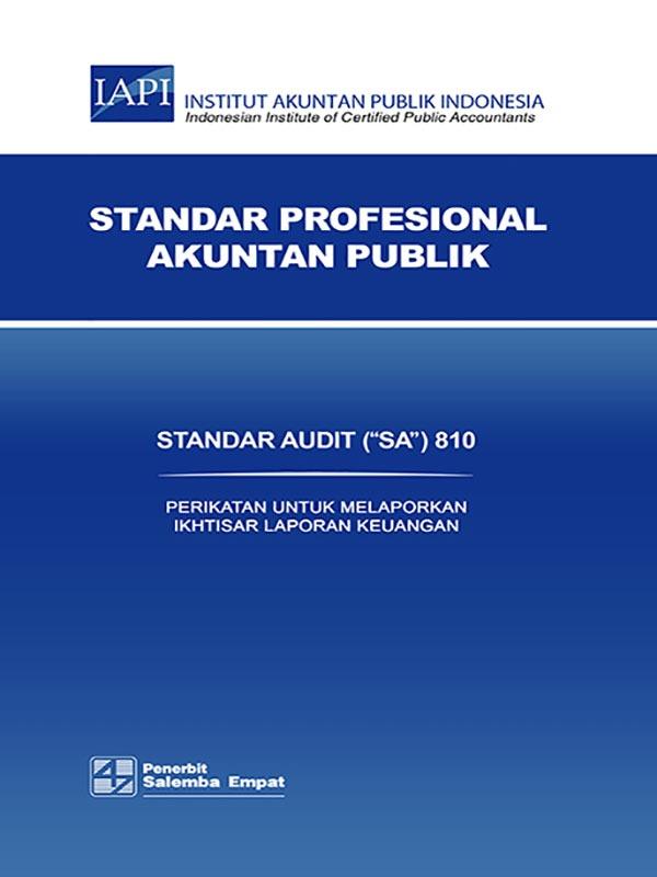 SA 810-Standar Audit/IAPI