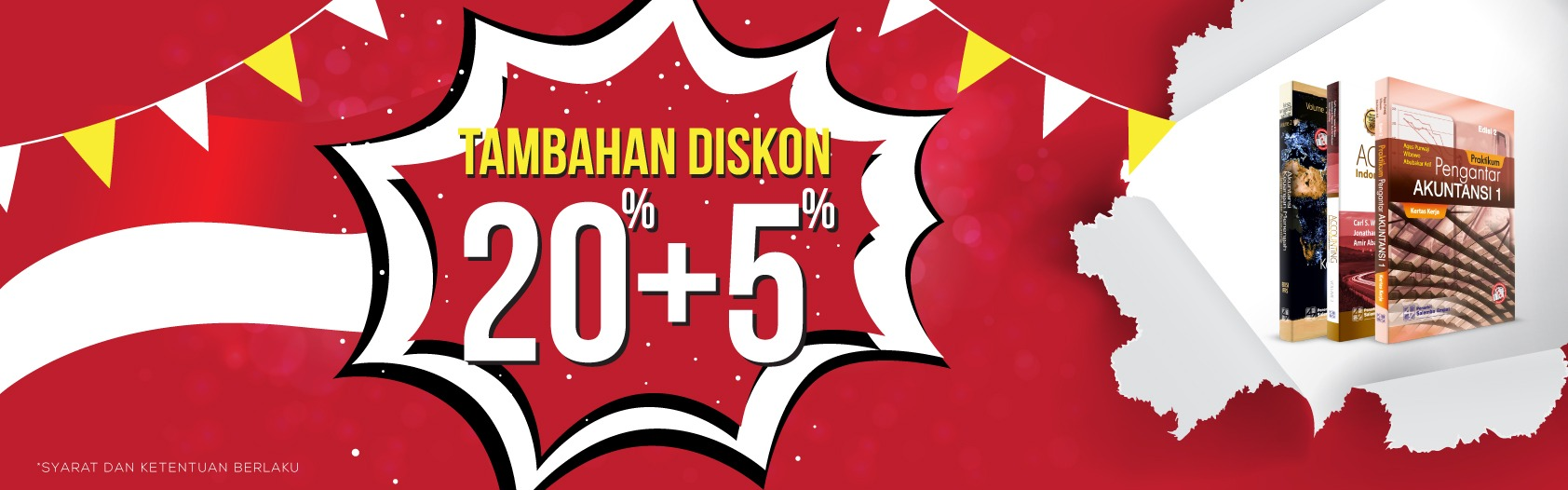 Promo Tambahan Diskon 20%+5%