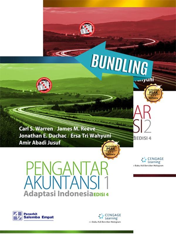 Pengantar Akuntansi 1 dan 2  e4 adaptasi indonesia