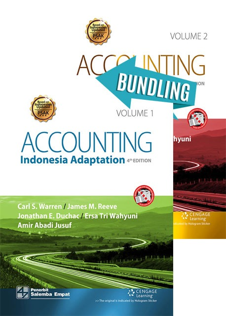 Accounting-Indonesia Adaptation 4th Edition Vol 1 Dan  Vol 2/Warren-at al