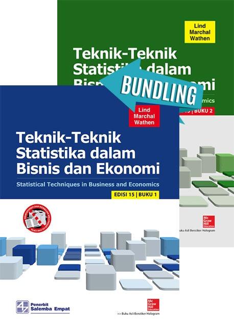 Teknik-Teknik Statistika dalam Bisnis dan Ekonomi (e15) Buku 1 dan 2