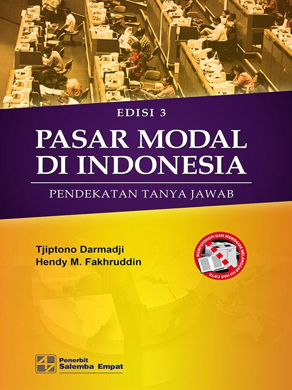 Pasar Modal di Indonesia Edisi 3/Tjiptono-Hendy