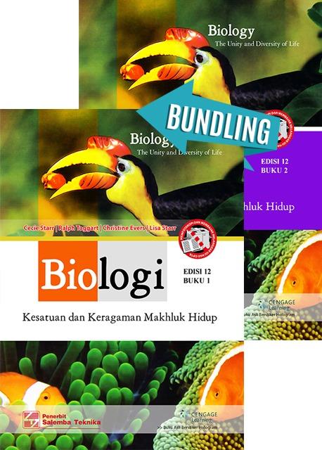 Biologi: Kesatuan dan Keragaman Makhluk Hidup 1 dan 2 Edisi 12/Cecie Starr