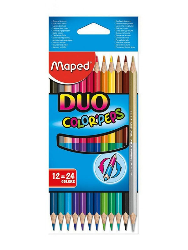 Color Peps Duo x12 - 24 Colors