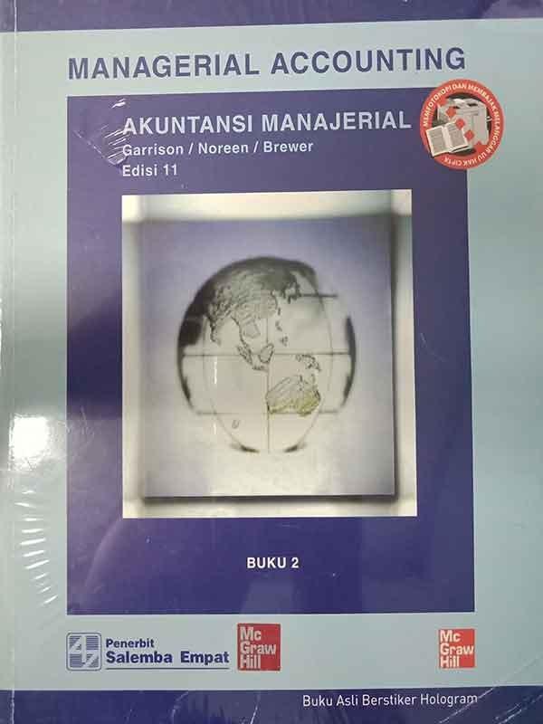 Akuntansi Manajerial Buku 2 Edisi 11-HVS/Garrison