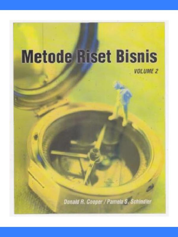 Metode Riset Bisnis Volume 2 Edisi 9/Cooper