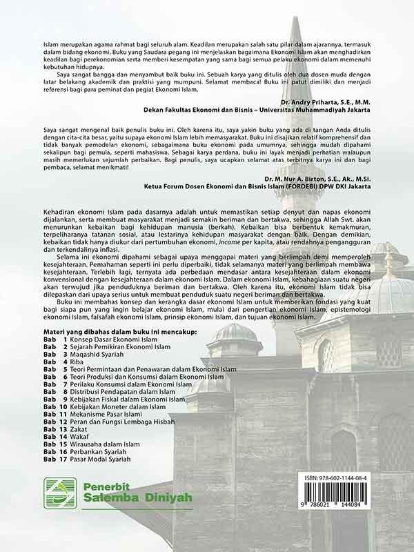 Pengantar Ekonomi Islam/Jaharuddin